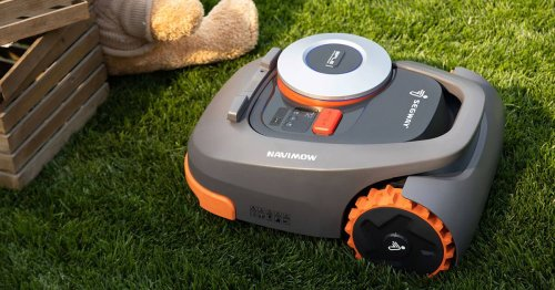 Segway's first robotic lawn mower uses GPS to stay on course