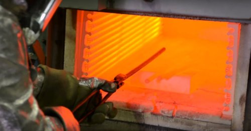 Turning up the heat on titanium alloy leads to increase in strength