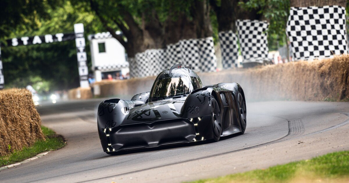 McMurtry Spéirling may be the fastest, loudest electric car ever built