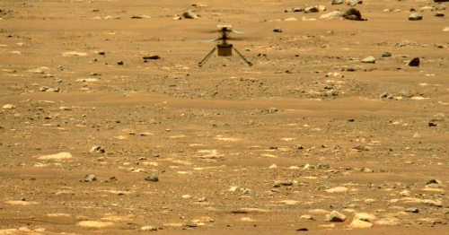 Ingenuity helicopter makes first controlled horizontal flight on Mars