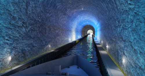 Mile-long ship tunnel will offer safe passage through hazardous peninsula