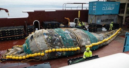 """Ocean Cleanup's supersized system proves its worth with """"massive"""" haul"""