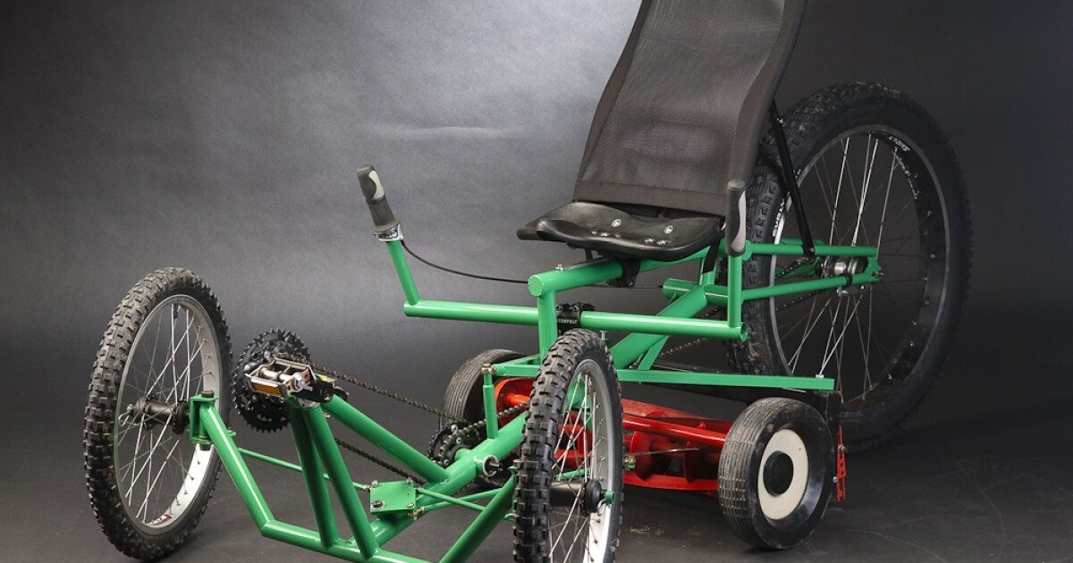 Going green on the greens - the Mow Cycle pedal-powered riding mower