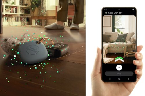 Samsung's more precise SmartTag+ uses AR to guide you to lost items