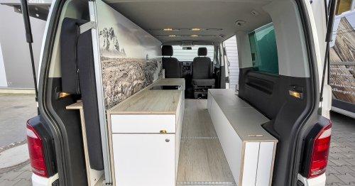 Ingenious Good Life VW camper van kit transforms with Murphy bed