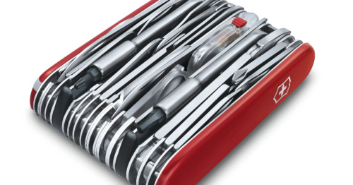 Victorinox goes huge and tiny with latest Swiss Army tools