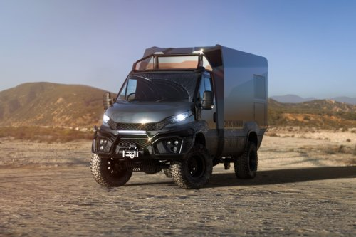 Darc debuts with wicked Dakar-inspired carbon off-road motorhome
