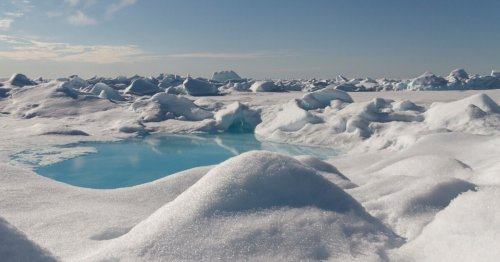 Arctic snowfall found to carry tiny fragments of plastic