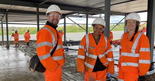 World's first graphene-enhanced concrete slab poured in England