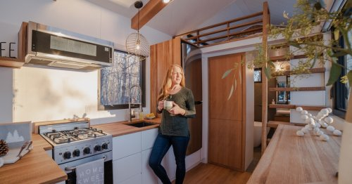 Canadian couple build tiny house that feels like a luxury home