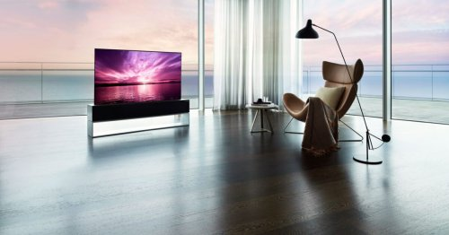 LG's rollable OLED TV finally hits the market at eye-watering price