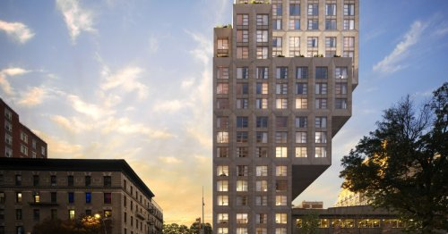 Top-heavy tower makes space for luxury Manhattan residences