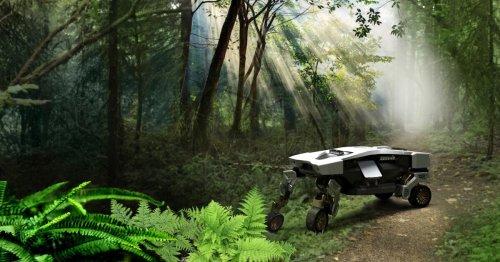 Hyundai's wild robot-car-on-legs gets an unmanned, air-liftable cousin