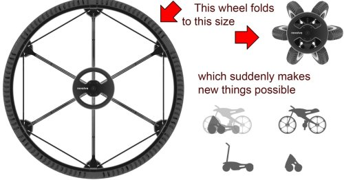 Revolve folding 26-inch wheel could be a game-changer