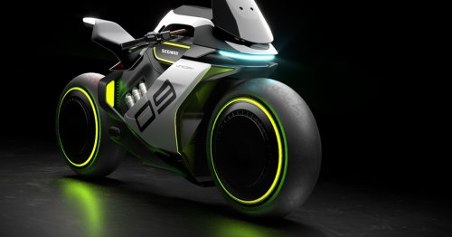 Segway announces ultra-futuristic Apex H2 hydrogen-powered motorcycle
