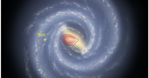 """""""Fossil galaxy"""" found in the heart of the Milky Way"""