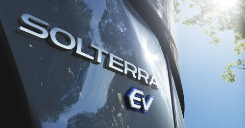 Subaru announces Solterra Electric SUV for 2022 production