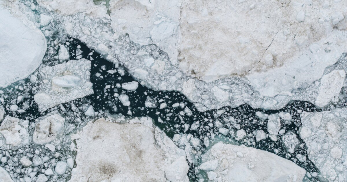 Surprisingly high mercury levels detected in Greenland glacier meltwater
