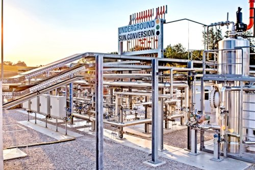 Underground Sun Conversion tech uses sunlight to produce natural gas