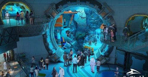 World's largest aquarium nears completion in Abu Dhabi
