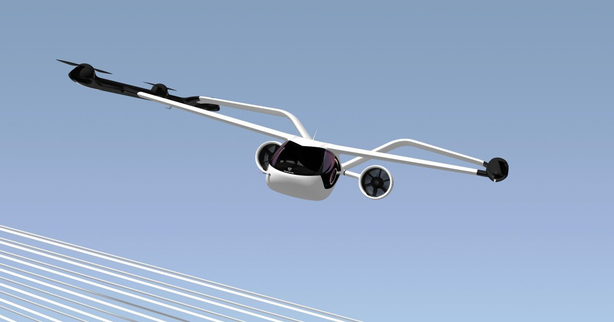 Volocopter launches a fixed-wing flying taxi for longer flights