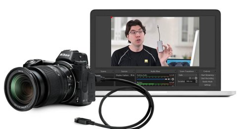 Nikon releases software to turn cameras into high quality webcams