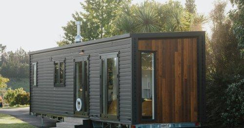 Piwakawaka tiny house puts small living on the level