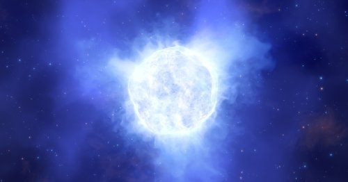 One of the most massive stars in local universe may have disappeared