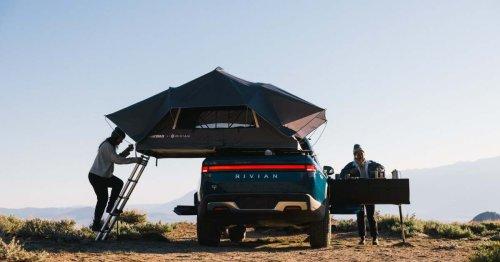 Rivian R1T ready to roam as America's $72K electric adventure camper