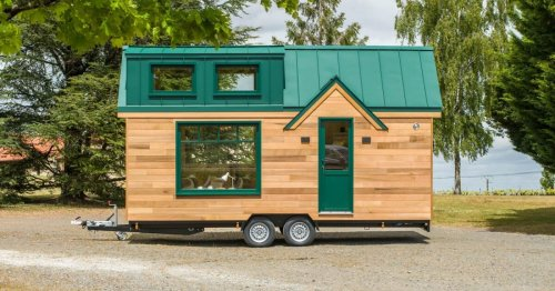 Compact but comfortable tiny house can vacation a family of four