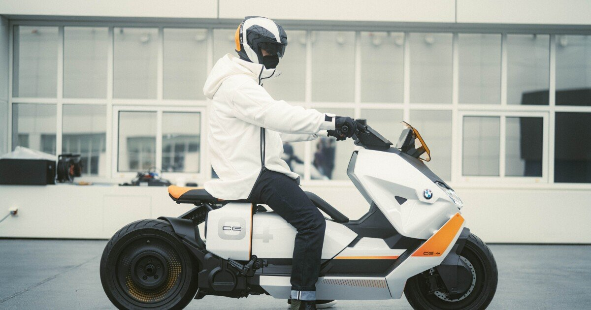 BMW's electric future-scooter is going to production within months