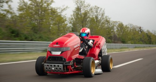 200-horsepower Honda mows its way into the record books
