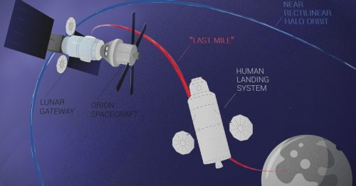 "Study weighs up best ""last mile"" options for crewed lunar landings"