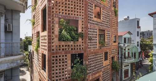 Tree-filled home stays cool in Hanoi – no air conditioning required