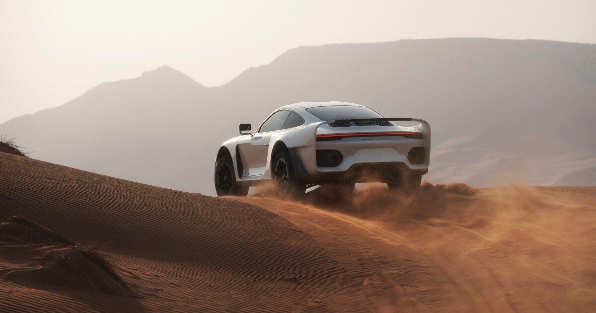 """Son of Gemballa"" announces his own adventure-sports Porsche conversion"
