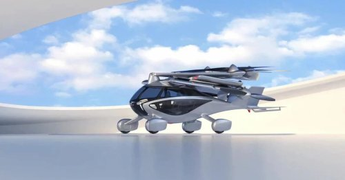 One with the lot: The folding, electric, street-legal, VTOL flying car