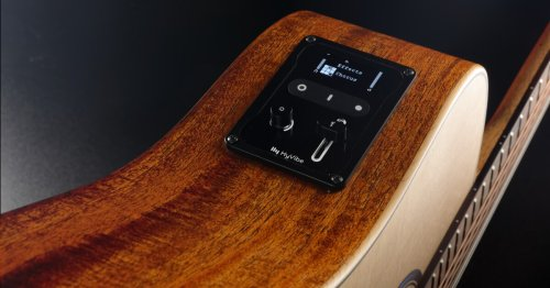 HyVibe System brings digital smarts to any acoustic guitar