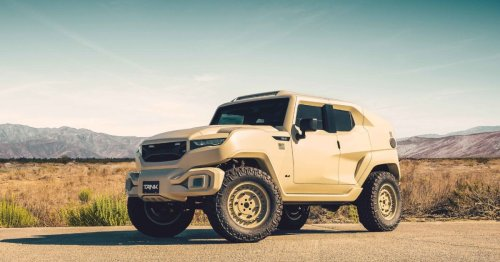 Rezvani Tank Military Edition: The only SUV with a smoke screen button