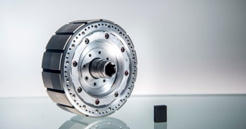 Next-gen spoked magnet design spins up cheaper, lighter, more powerful electric motor