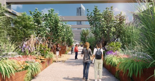 Victorian-era railway viaduct being turned into High Line-style park