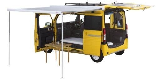 Honda N-Van solo micro-camper seeks out true solitude and zen