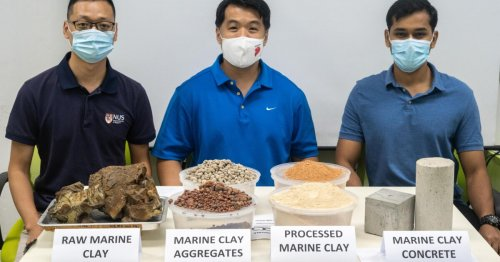 Eco-friendly concrete swaps out sand for activated clay