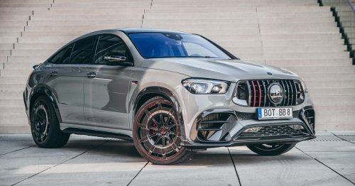 Brabus 900 Rocket Edition stakes a claim as the world's fastest SUV