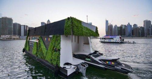 Expandable solar-powered floating Aqua Pod launches in Dubai