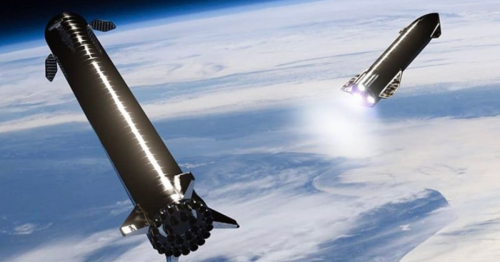 SpaceX test fires Starship's Raptor engine for deep space burns
