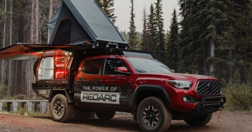 Tacoma camper rig brings Aussie-size off-grid capability to US outback