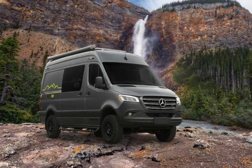 Recon 4x4 off-grid camper van bursts onto US overland scene