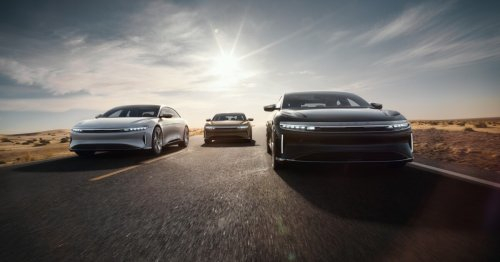 Lucid Air blows past the competition (Tesla) with 520-mile EPA range