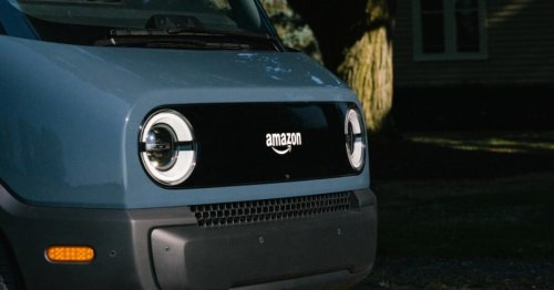 Rivian builds an all-electric delivery van for Amazon
