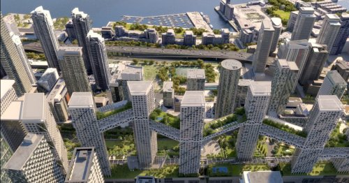 Skybridge-linked Toronto towers will create a community in the sky